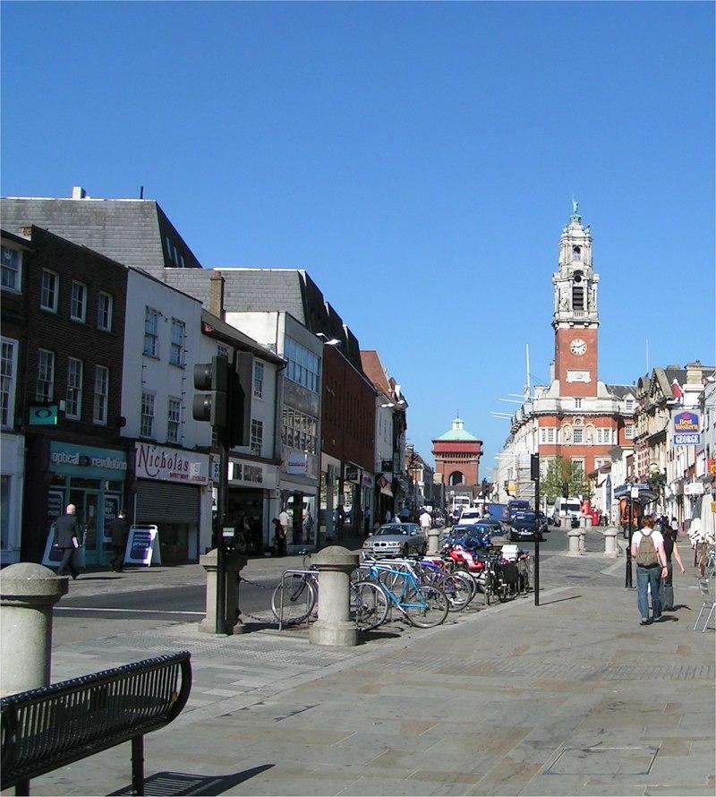 Calle principal Colchester