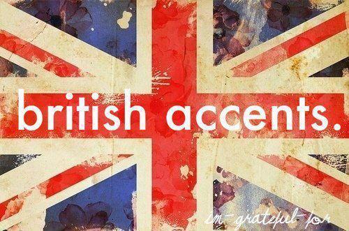acentos británicos
