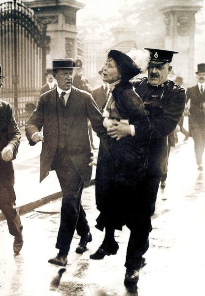Emmeline pankhurst detenida