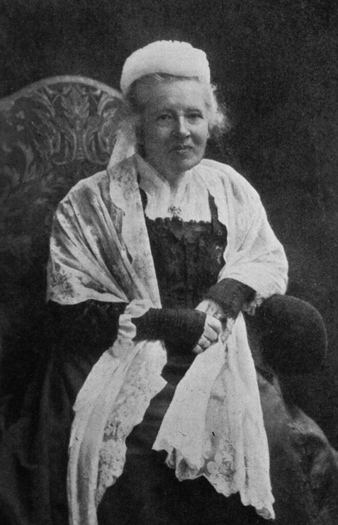 Retrato de Elizabeth Garrett pionera en Medicina en Reino Unido