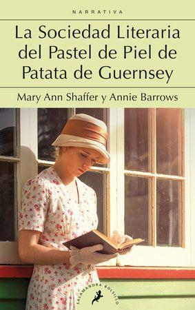 portada del libro la sociedad literial del pastel de piel de patata de Guernsey