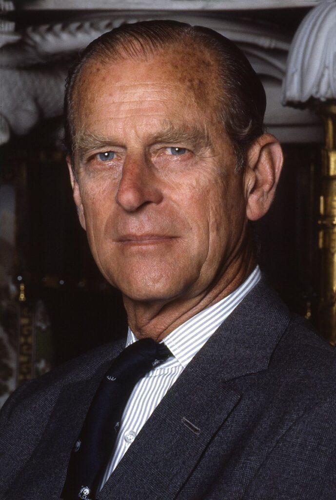 Retrato del Príncipe Philip en el palacio de Buckingham