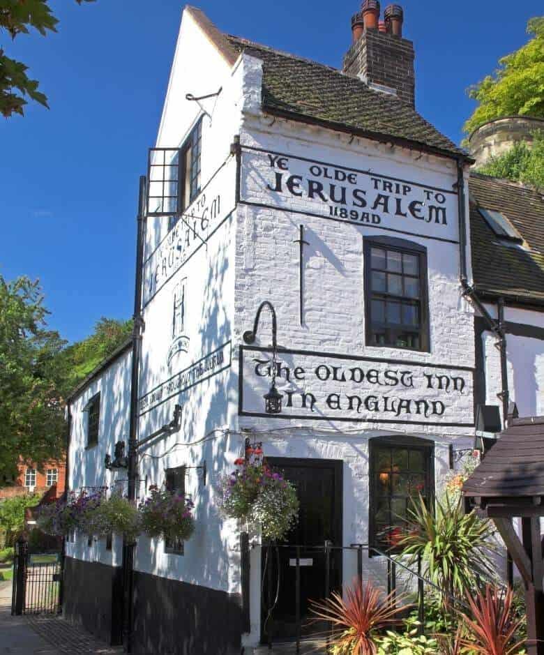 imagen del pub 'Ye olde trip to Jerusalem'