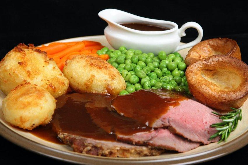 imagen de un sunday roast